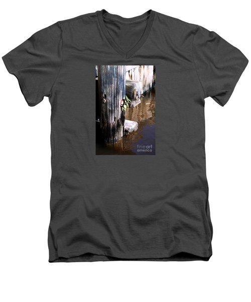 Determination Men's V-Neck T-Shirt by Rebecca Davis