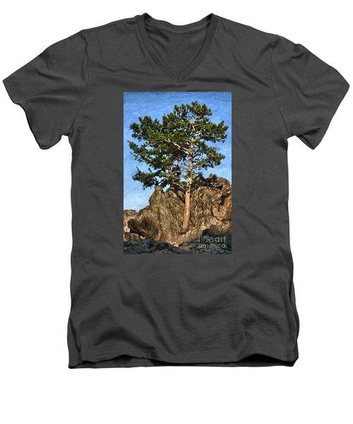 Determined Men's V-Neck T-Shirt