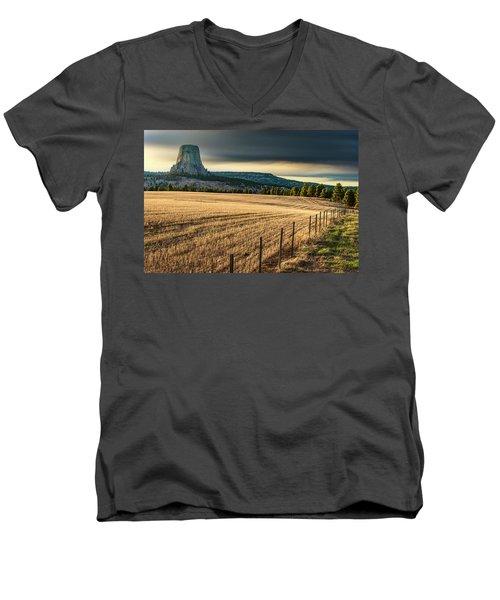 Devil's Field Men's V-Neck T-Shirt