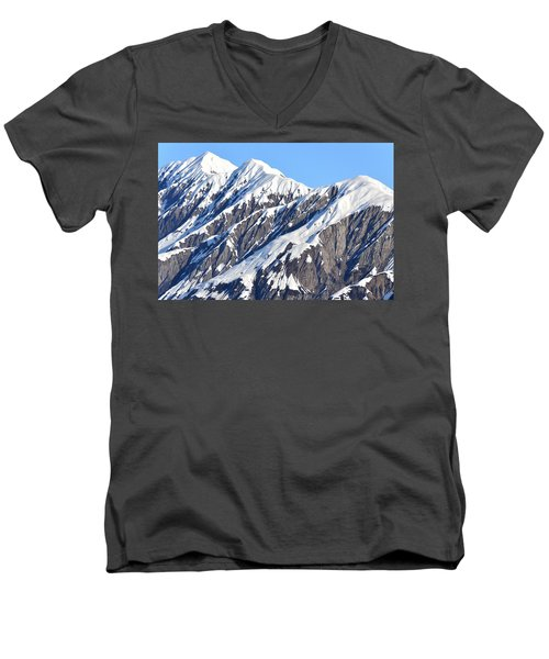 Devils Food With Frosting - Wrangall St. Elias Men's V-Neck T-Shirt