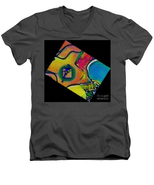 Try...all  And Error Men's V-Neck T-Shirt by Kathie Chicoine