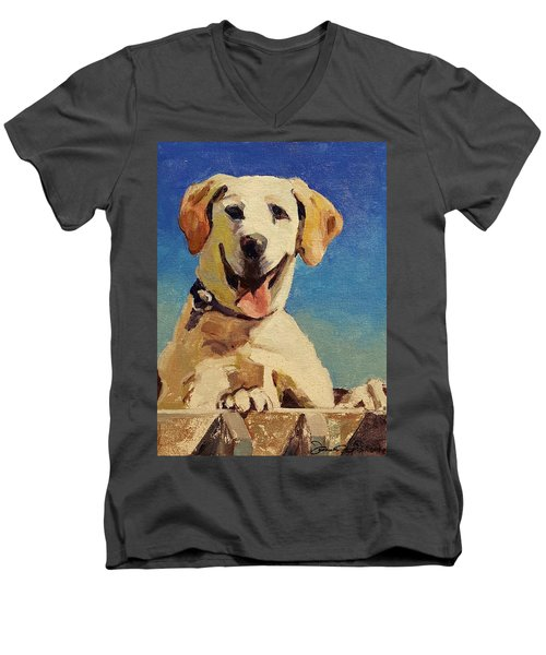 Did Someone Say Treat? Men's V-Neck T-Shirt