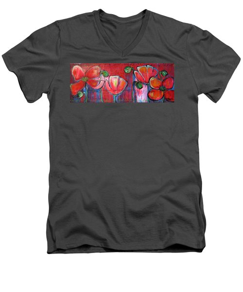 Did You Say Sanctuary Men's V-Neck T-Shirt