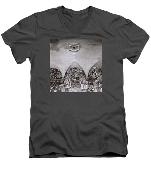 Diego Rivera Men's V-Neck T-Shirt