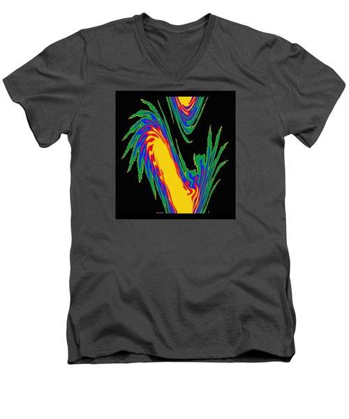 Digital Art 10 Men's V-Neck T-Shirt by Suhas Tavkar