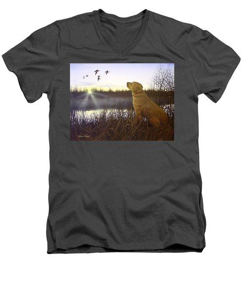 Diligence Men's V-Neck T-Shirt