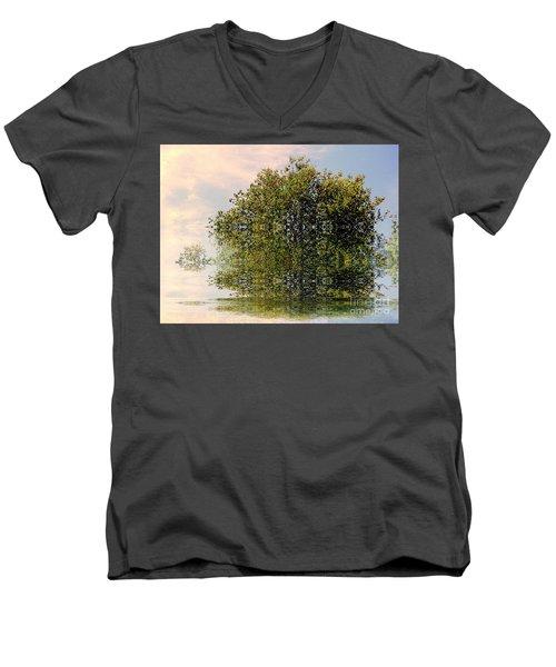 Dimensional Men's V-Neck T-Shirt