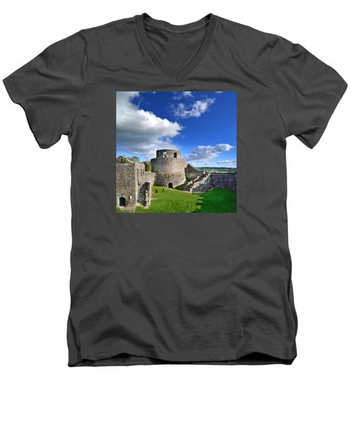 Dinefwr Castle 1 Men's V-Neck T-Shirt