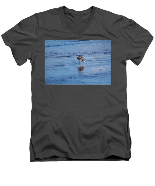 Men's V-Neck T-Shirt featuring the photograph Ding Darling's Number One II by Michiale Schneider