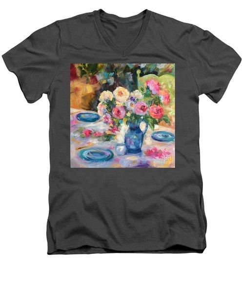 Dining Alfresco Men's V-Neck T-Shirt