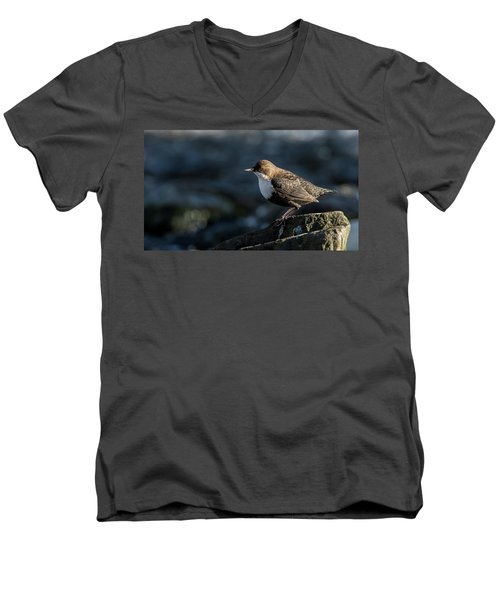 Men's V-Neck T-Shirt featuring the photograph Dipper by Torbjorn Swenelius