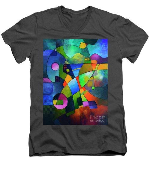 Direction North Men's V-Neck T-Shirt