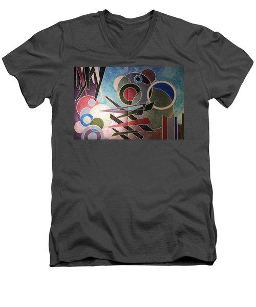 Disarter Men's V-Neck T-Shirt
