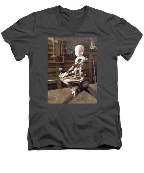 Disintegration In Progress Men's V-Neck T-Shirt