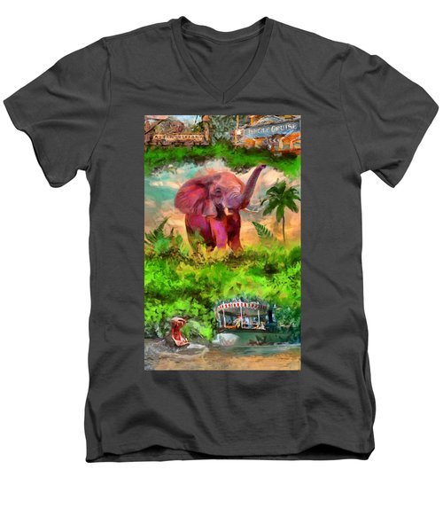 Disney's Jungle Cruise Men's V-Neck T-Shirt