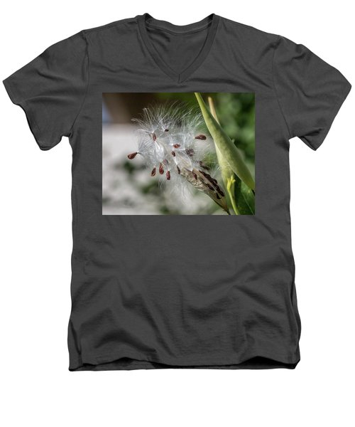 Dispersing Seeds Men's V-Neck T-Shirt