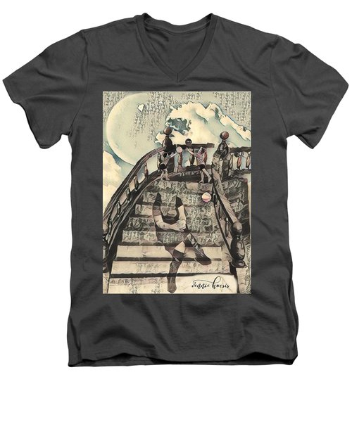 Dissociated Mother Men's V-Neck T-Shirt