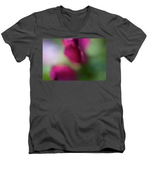 Distant Roses Men's V-Neck T-Shirt