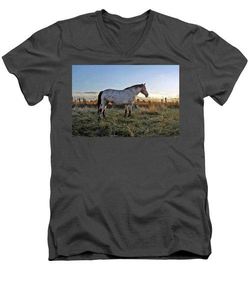 Distant Thoughts Men's V-Neck T-Shirt
