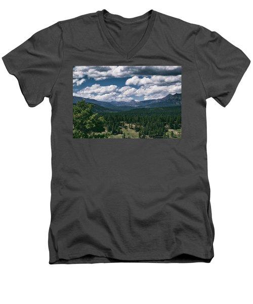 Distant Windows Men's V-Neck T-Shirt