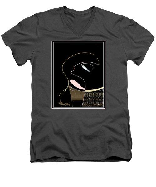 Diva  Men's V-Neck T-Shirt