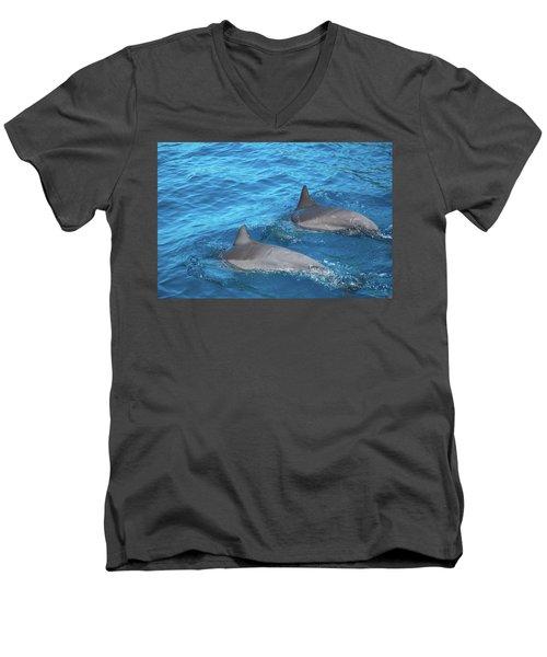 Dive On In Men's V-Neck T-Shirt