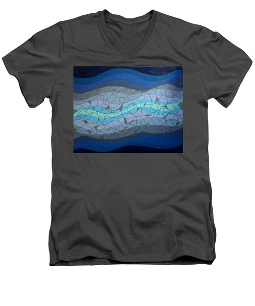 Divine Flow Men's V-Neck T-Shirt