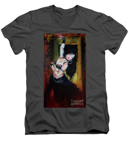 Divine Fusion Men's V-Neck T-Shirt
