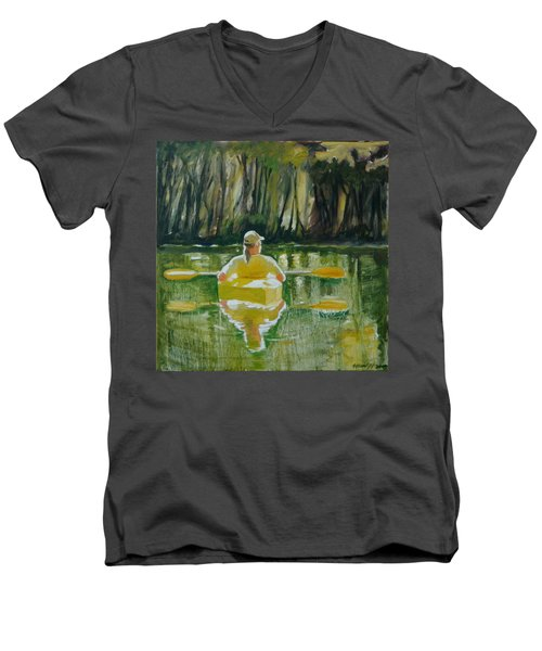 Dix River Redux Men's V-Neck T-Shirt