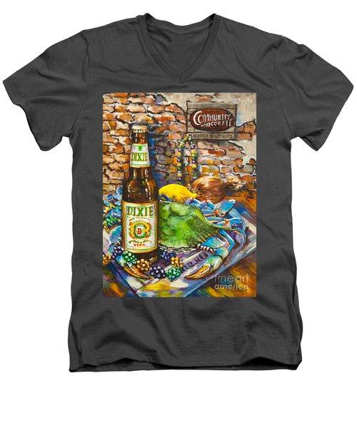 Dixie Love Men's V-Neck T-Shirt