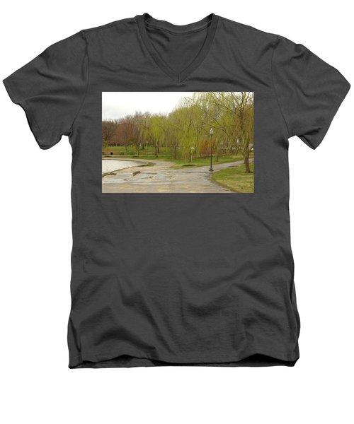 Dnrf0401 Men's V-Neck T-Shirt