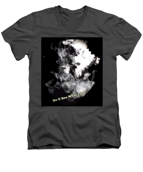 Do U See What I See? Men's V-Neck T-Shirt