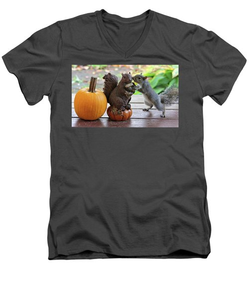 Do You Want To Share? Men's V-Neck T-Shirt