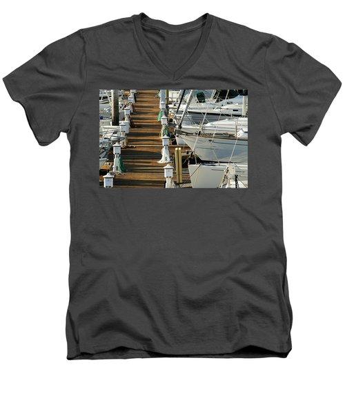 Dock Walk Men's V-Neck T-Shirt