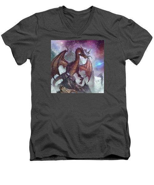 Do'ellin Men's V-Neck T-Shirt