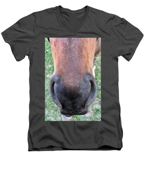 Big Nose  Men's V-Neck T-Shirt