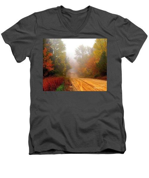 Dog Heaven Men's V-Neck T-Shirt