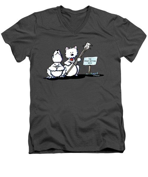 Doggy Bottom Boys Men's V-Neck T-Shirt