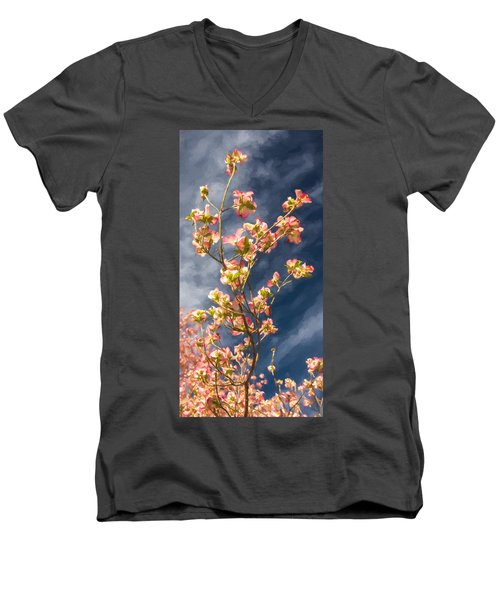 Dogwood 5 Men's V-Neck T-Shirt