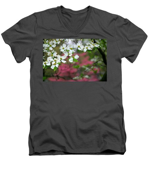 Dogwood Days Men's V-Neck T-Shirt