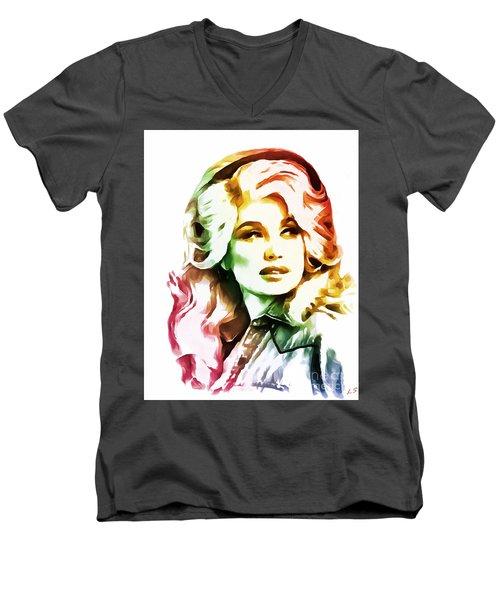 Dolly Parton Collection - 1 Men's V-Neck T-Shirt