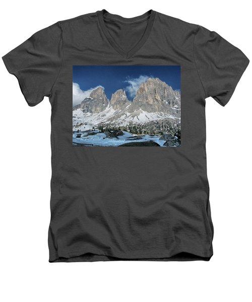 Dolomites 1 Men's V-Neck T-Shirt