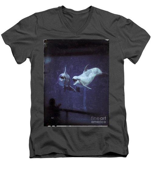 Dolphinspiration Men's V-Neck T-Shirt