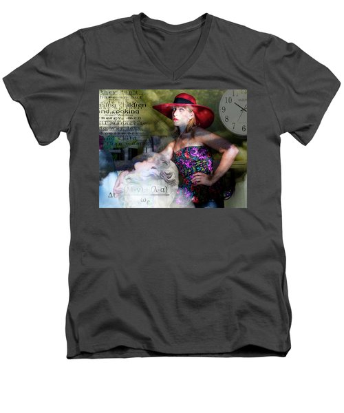 Domestic Considerations Kronos' Daughter Men's V-Neck T-Shirt by Ann Tracy