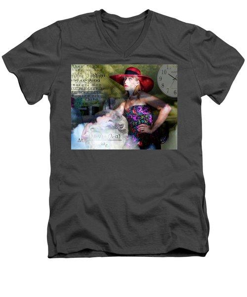 Domestic Considerations Kronos' Daughter Men's V-Neck T-Shirt