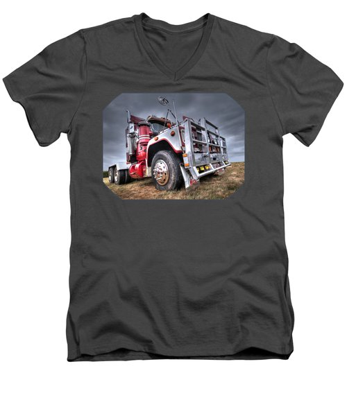 Done Hauling Men's V-Neck T-Shirt