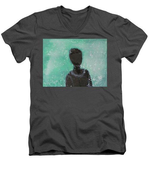 Don't Forget The Original Intention. Men's V-Neck T-Shirt