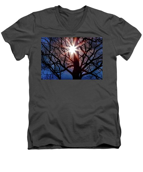 Don't Lose Sight Of It All Men's V-Neck T-Shirt by Karen Wiles