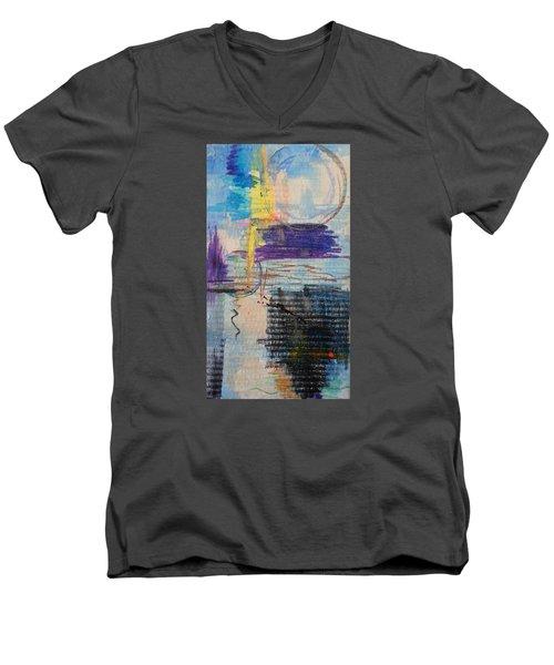 Don't Resist Men's V-Neck T-Shirt by Becky Chappell