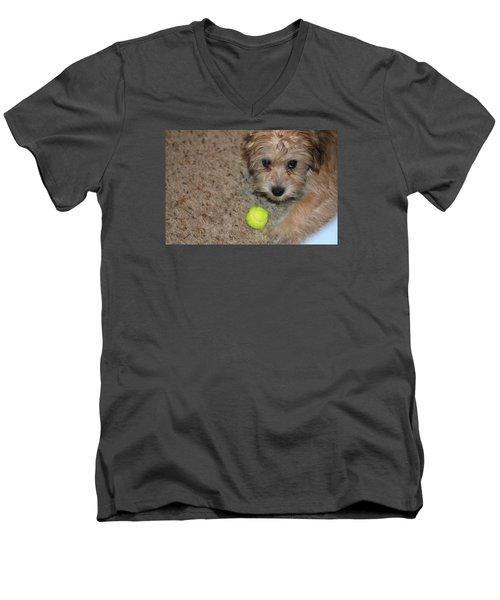 Don't Take My Ball Men's V-Neck T-Shirt